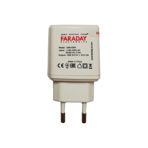 Faraday usb 18W/OEM