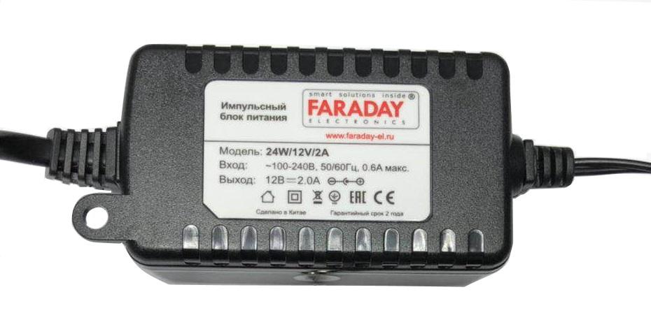 Faraday Б/П 24W/12 Plastic