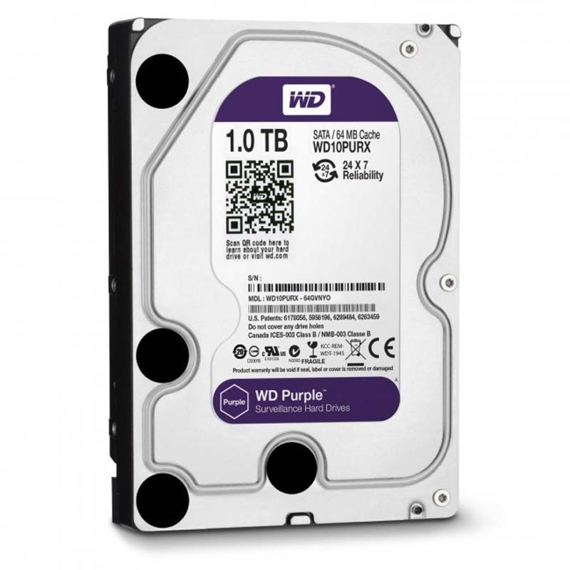 Western Digital Purple 1TB 64MB 5400rpm